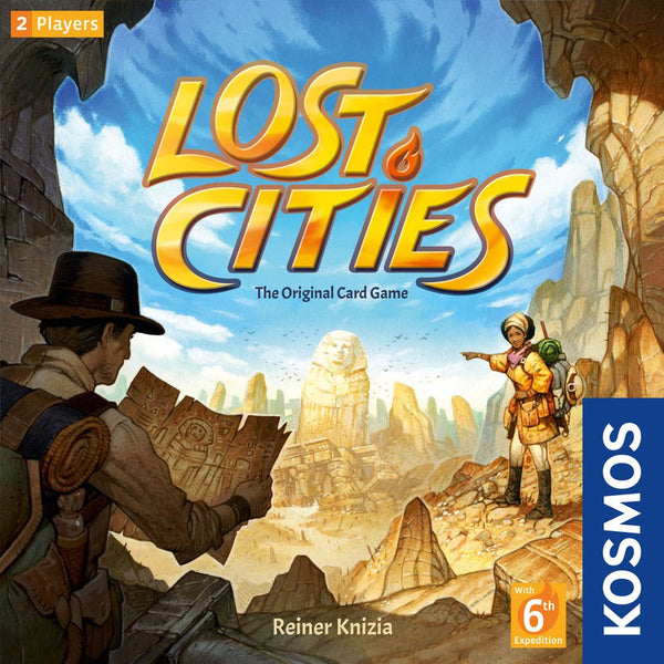 Lost Cities (New Edition with 6th Expedition)
