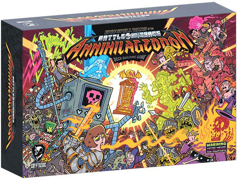 Epic Spell Wars of the Battle Wizards: ANNIHILAGEDDON! – The Deck-Building Game *PRE-ORDER*