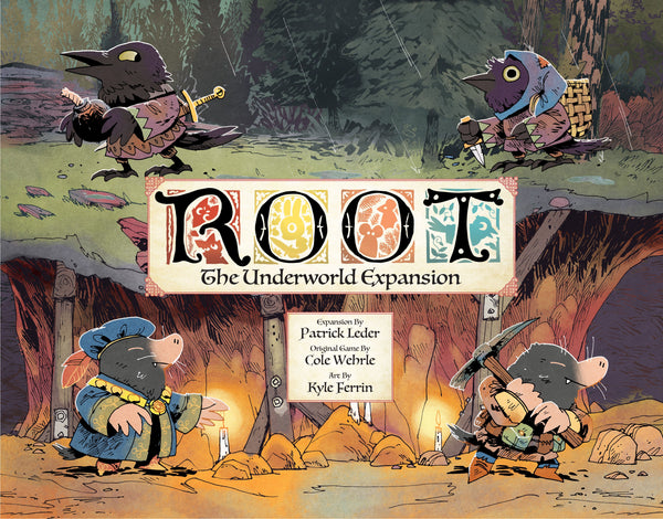 Root: The Underworld Expansion *PRE-ORDER* (ETA Feb 2020)