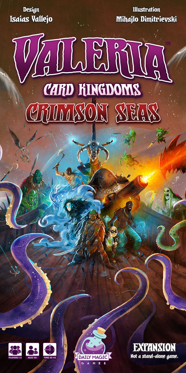 Valeria: Card Kingdoms – Crimson Seas Retail Edition