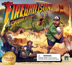 Fireball Island: The Curse of Vul-Kar – Spider Springs *PRE-ORDER*