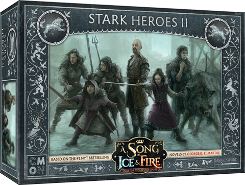A Song of Ice & Fire: Tabletop Miniatures Game – Stark Heroes II *PRE-ORDER*