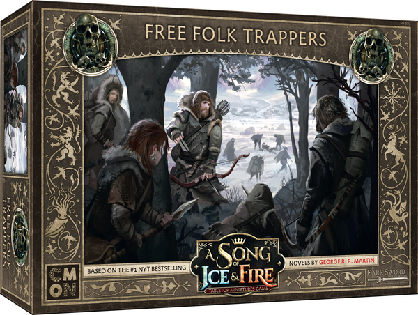 A Song of Ice & Fire: Tabletop Miniatures Game – Free Folk Trappers