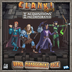 Clank! Legacy: Acquisitions Incorporated – Upper Management Pack *PRE-ORDER*