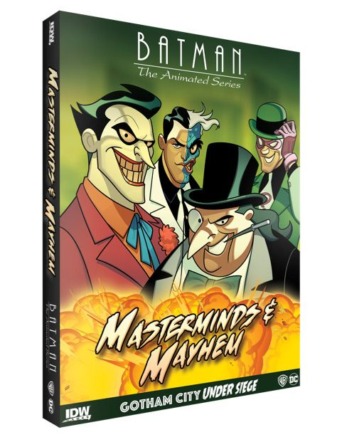 Batman: The Animated Series – Gotham City Under Siege: Masterminds & Mayhem *PRE-ORDER*