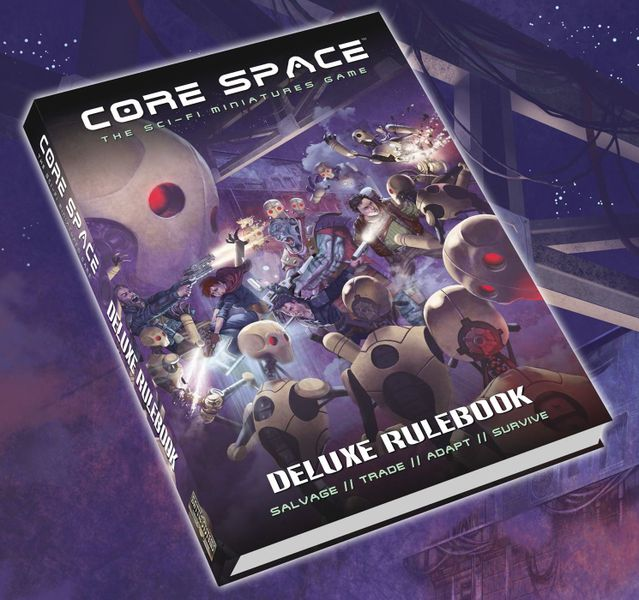 Core Space: Deluxe Rulebook (Import)