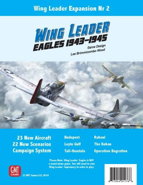 Wing Leader: Eagles 1943-45