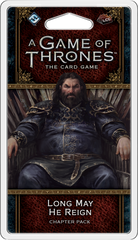 A Game of Thrones: The Card Game (Second Edition) – Long May He Reign *PRE-ORDER*