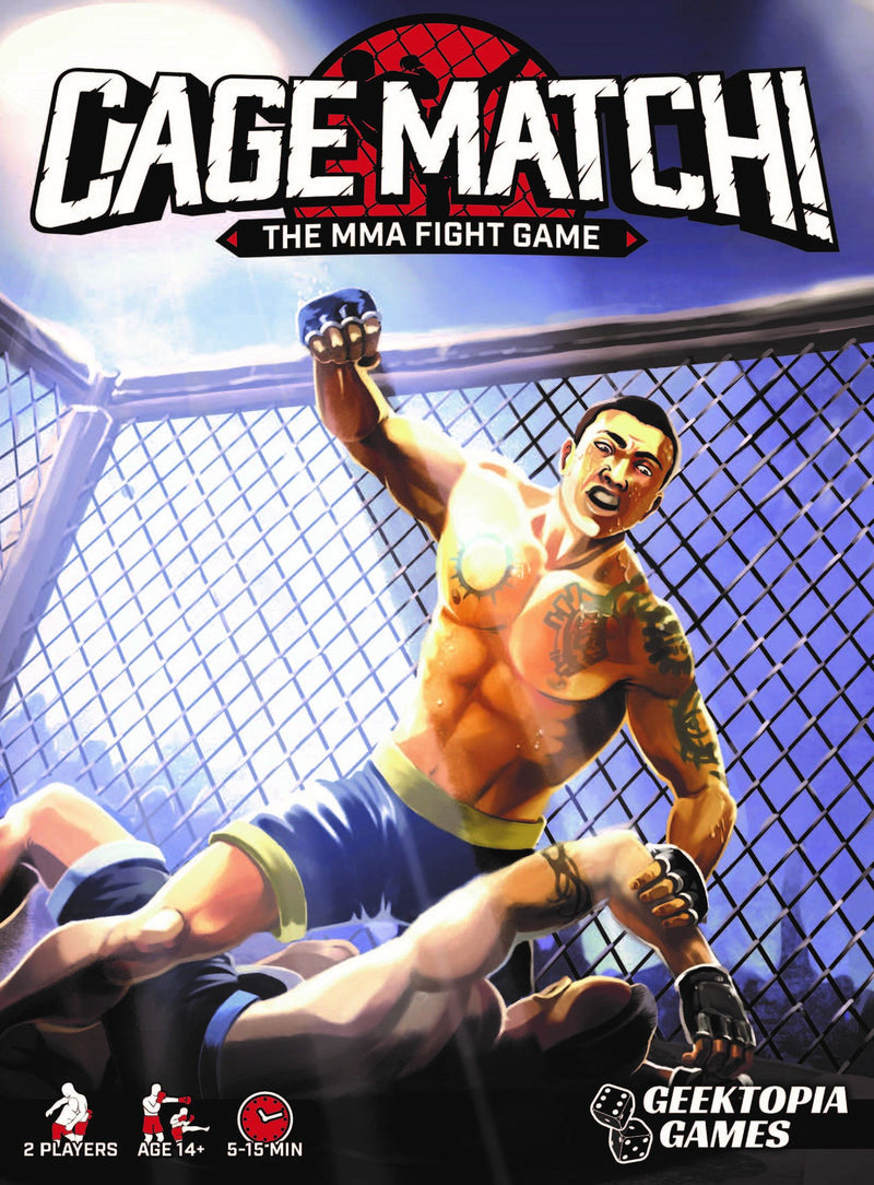 Cage Match!: The MMA Fight Game *PRE-ORDER*