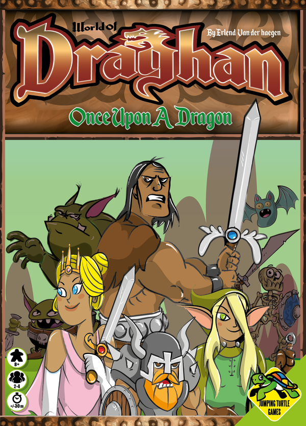 World of Draghan: Once Upon a Dragon (Import)
