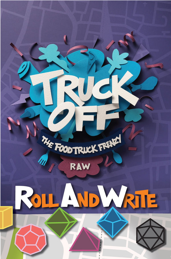 Truck Off: The Food Truck Frenzy Roll And Write *PRE-ORDER*