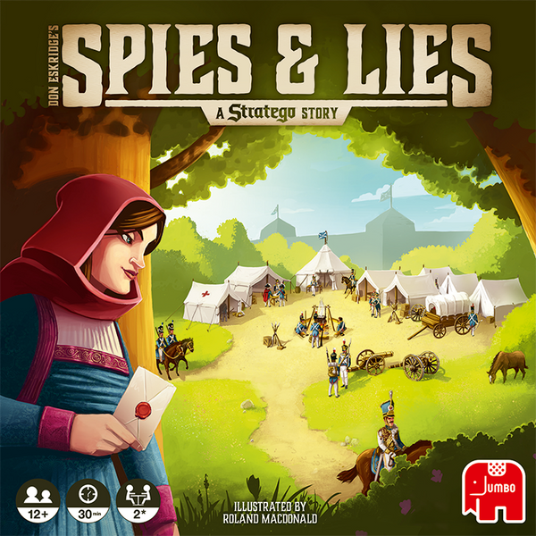 Spies & Lies: A Stratego Story (Import)
