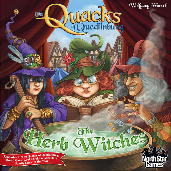 The Quacks of Quedlinburg: The Herb Witches (North Star Games Edition)