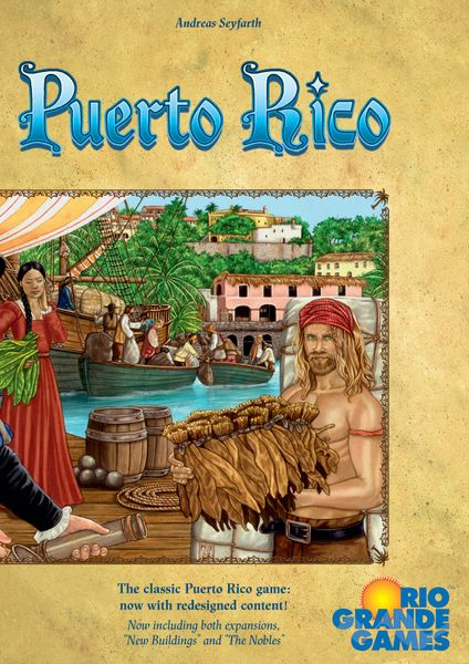 Puerto Rico (Deluxe Edition with two expansions)