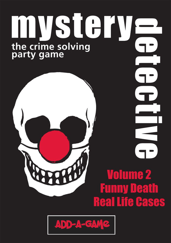 Mystery Detective Vol. 2: Funny Death and Real Life Cases