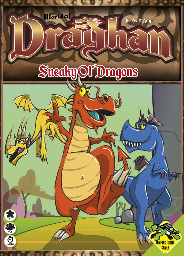 World of Draghan: Sneaky Ol' Dragons (Import)