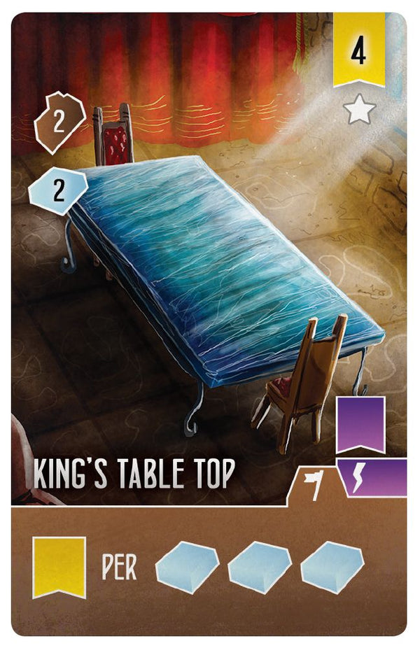 Architects of the West Kingdom: King's Table Top (Import)