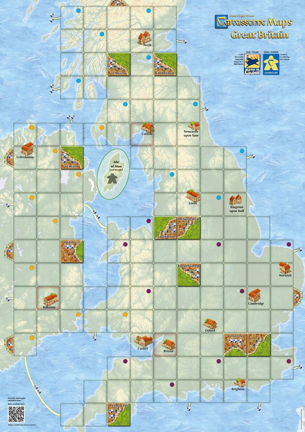 Carcassonne Maps: Great Britain (Import)