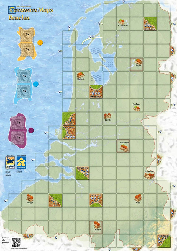 Carcassonne Maps: Benelux (Import)
