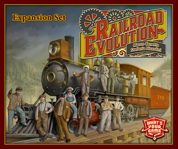 Railroad Revolution: Railroad Evolution (Import)