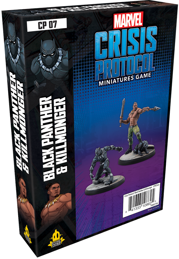 Marvel: Crisis Protocol – Black Panther and Kilmonger *PRE-ORDER*
