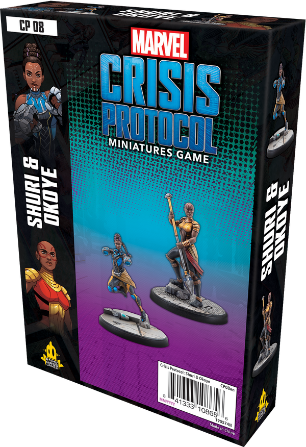 Marvel: Crisis Protocol – Shuri and Okoye