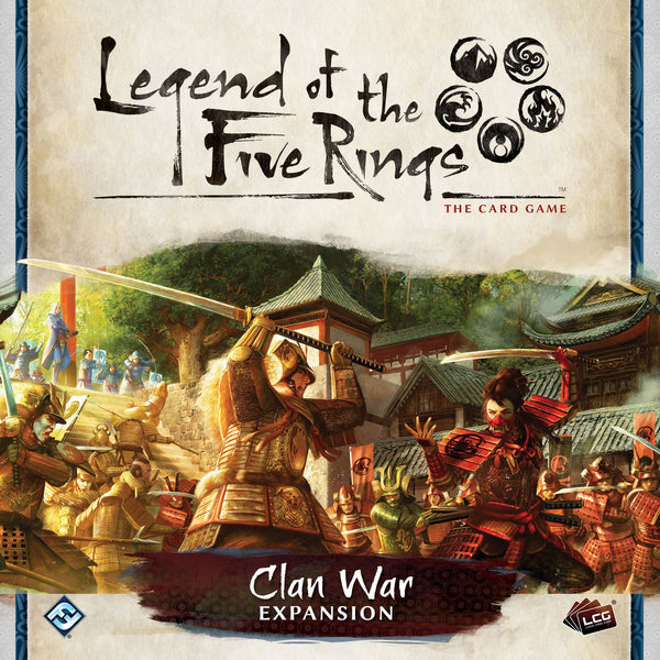 Legend of the Five Rings: The Card Game – Clan War *PRE-ORDER*