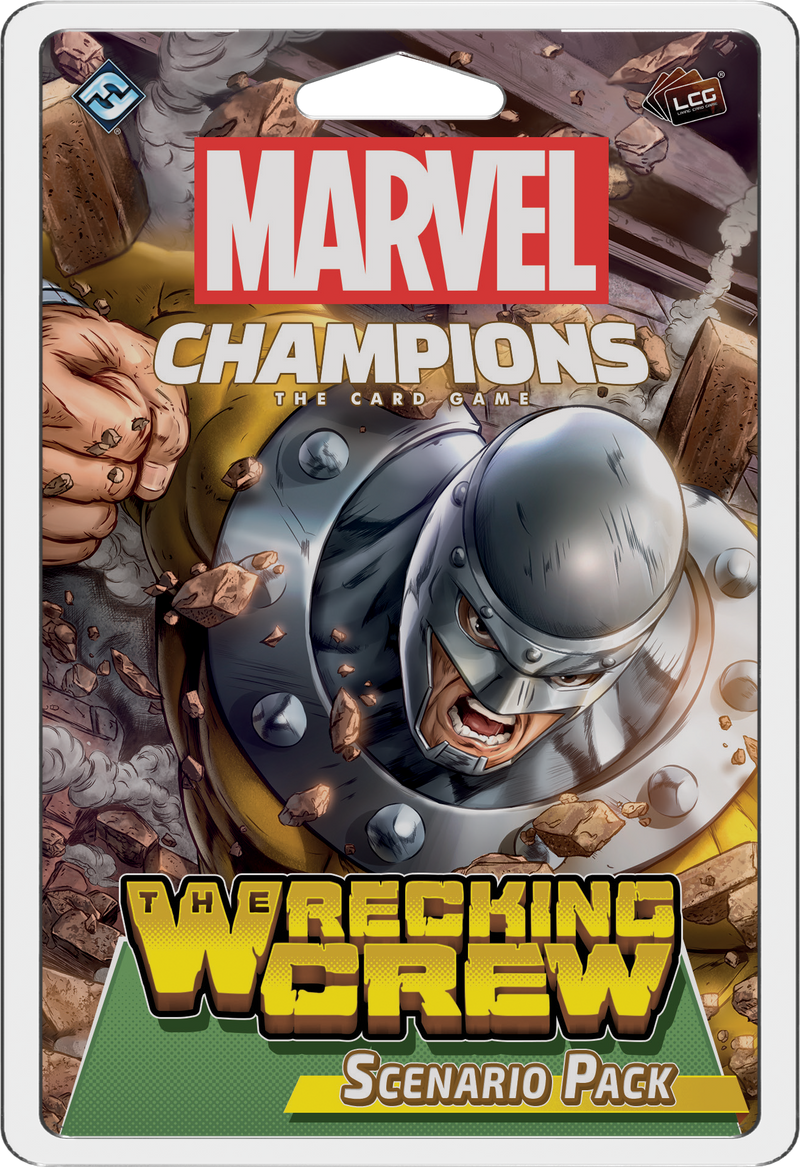Marvel Champions: The Card Game – The Wrecking Crew Scenario Pack