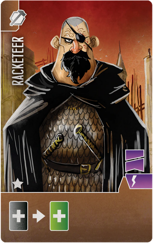 Architects of the West Kingdom: Racketeer (Import)