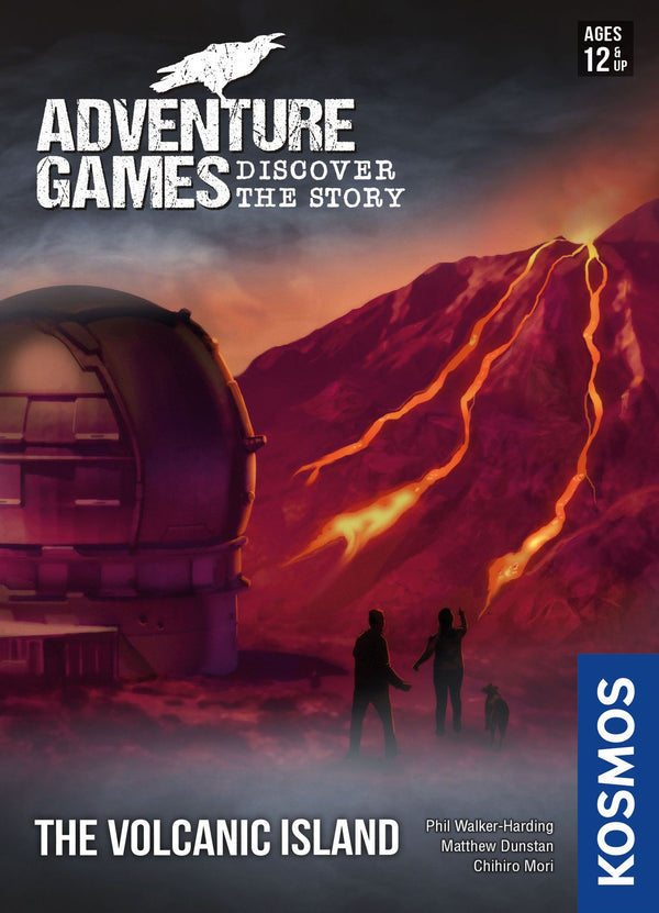 Adventure Games: The Volcanic Island *PRE-ORDER*