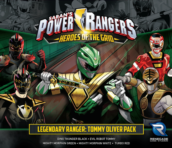 Power Rangers: Heroes of the Grid – Legendary Ranger: Tommy Oliver Pack