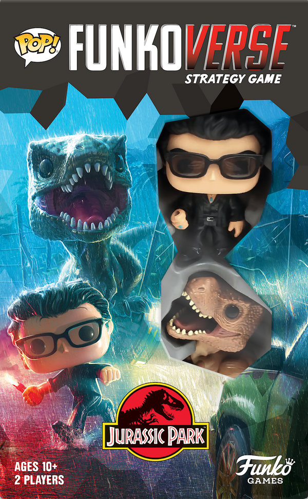 Funkoverse Strategy Game: Jurassic Park 101