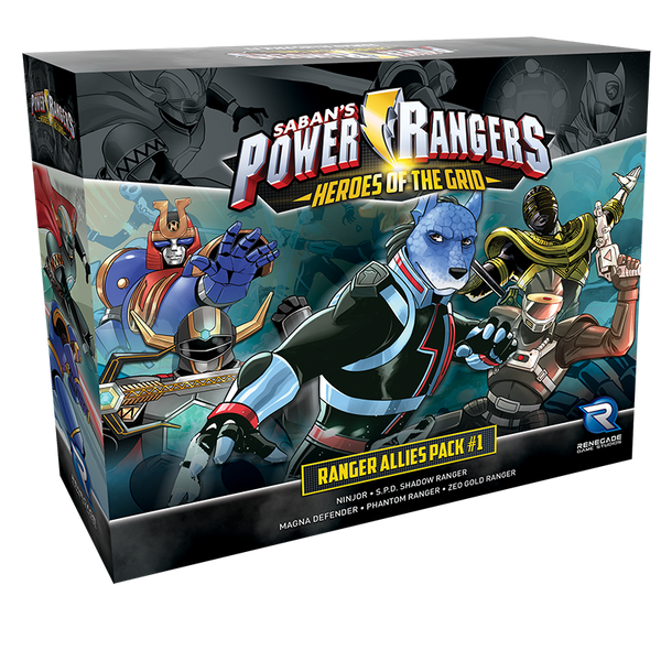 Power Rangers: Heroes of the Grid – Ranger Allies Pack #1
