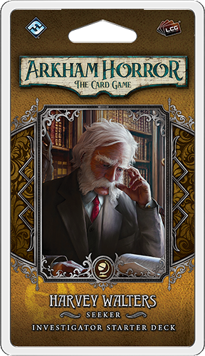 Arkham Horror: The Card Game – Harvey Walters: Investigator Starter Deck *PRE-ORDER*
