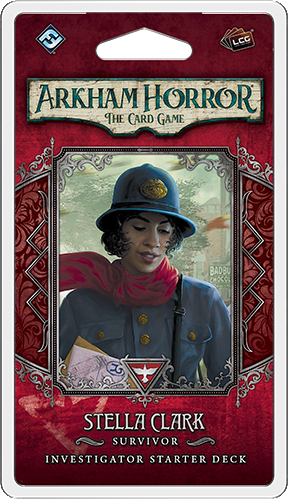 Arkham Horror: The Card Game – Stella Clark: Investigator Starter Deck *PRE-ORDER*