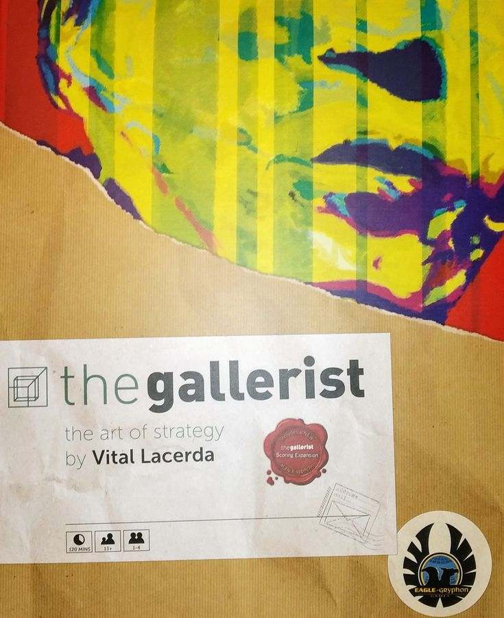 The Gallerist (Includes Scoring Expansion) *PRE-ORDER*