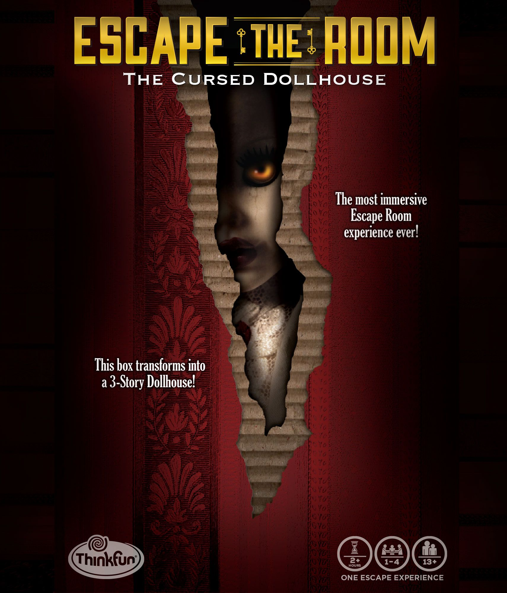 Escape the Room: The Cursed Dollhouse board game