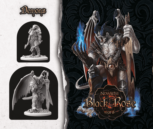 Black Rose Wars: Summonings – Demons