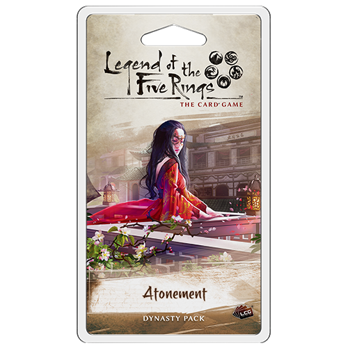 Legend of the Five Rings: The Card Game – Atonement Dynasty Pack