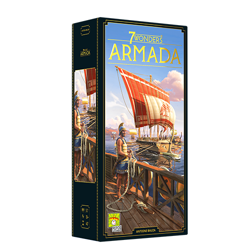 7 Wonders (Second Edition): Armada *PRE-ORDER*