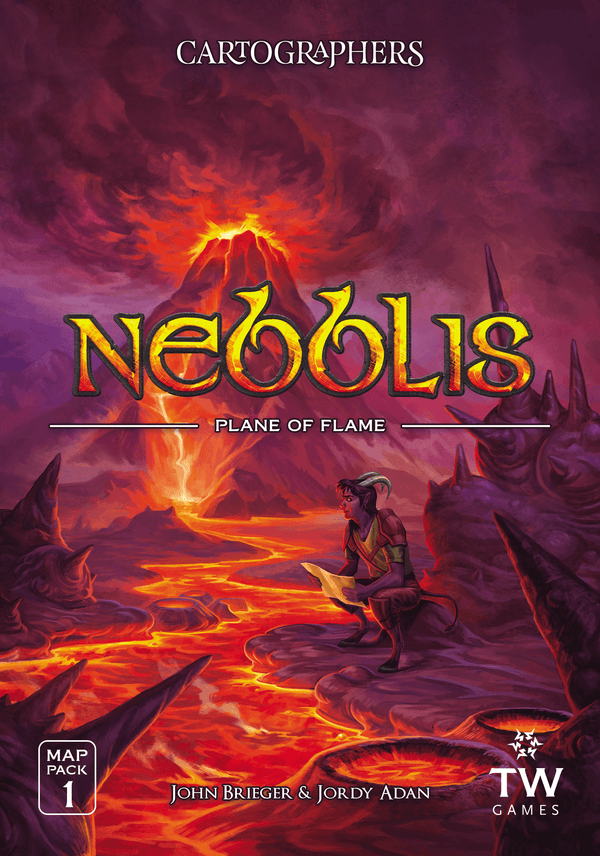 Cartographers Map Pack 1: Nebblis – Plane of Flame *PRE-ORDER*