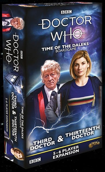 Doctor Who: Time of the Daleks – Third Doctor & Thirteenth Doctor