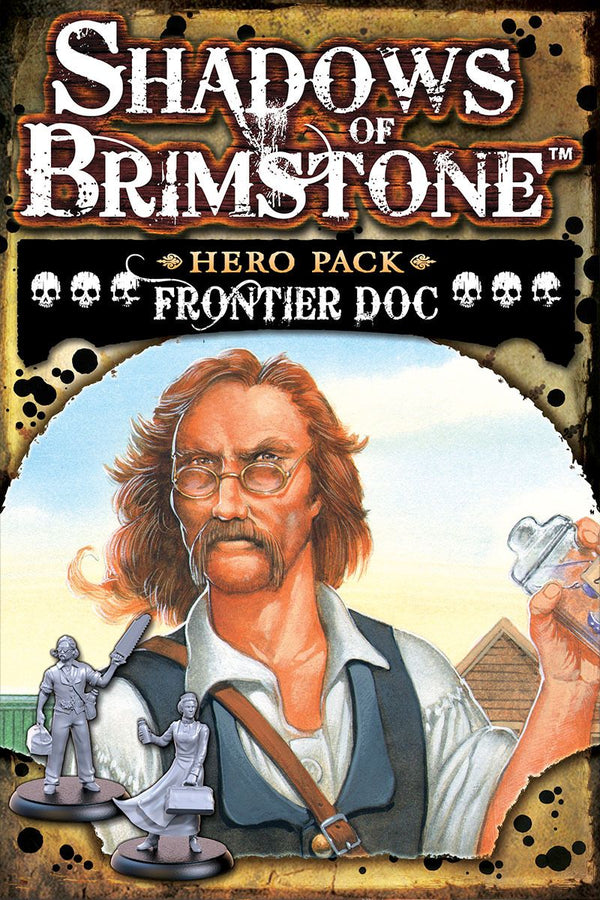 Shadows of Brimstone: Frontier Doc Hero Pack