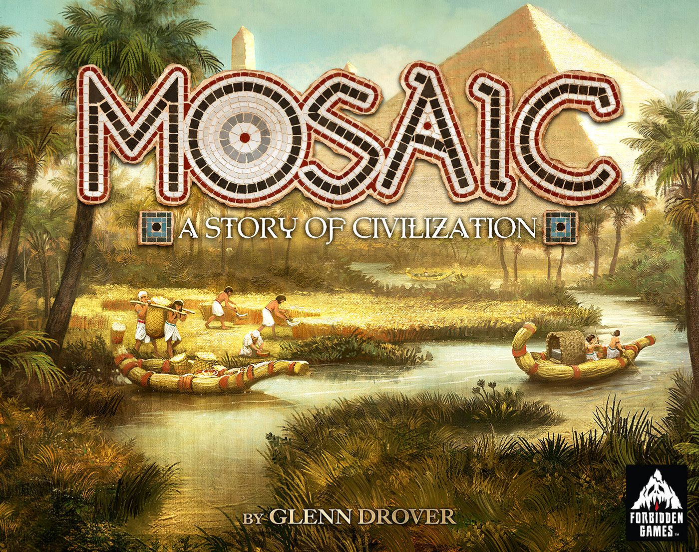 Mosaic: A Story of Civilization board game