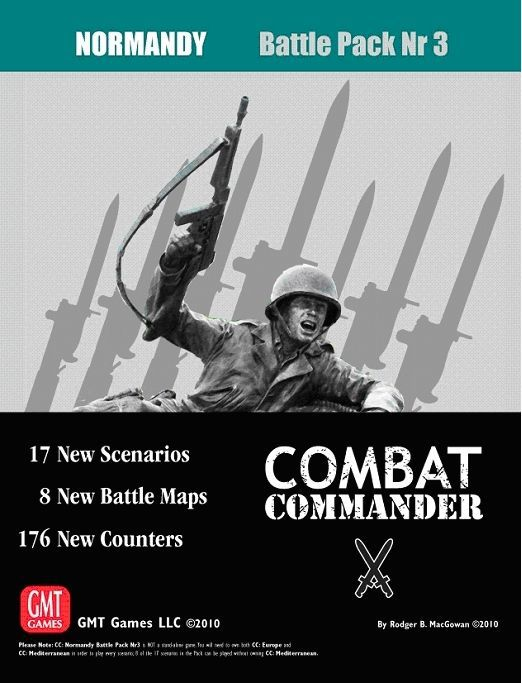 Combat Commander: Battle Pack #3 – Normandy