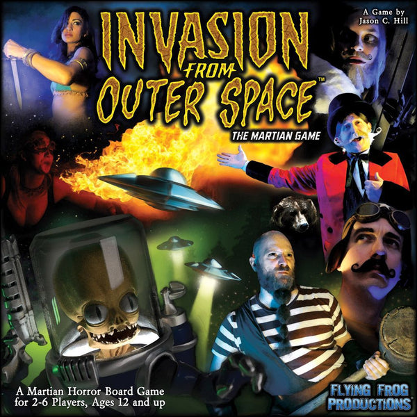 Invasion from Outer Space: The Martian Game