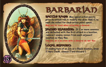 Defenders of the Realm: The Barbarian (Includes Miniature)