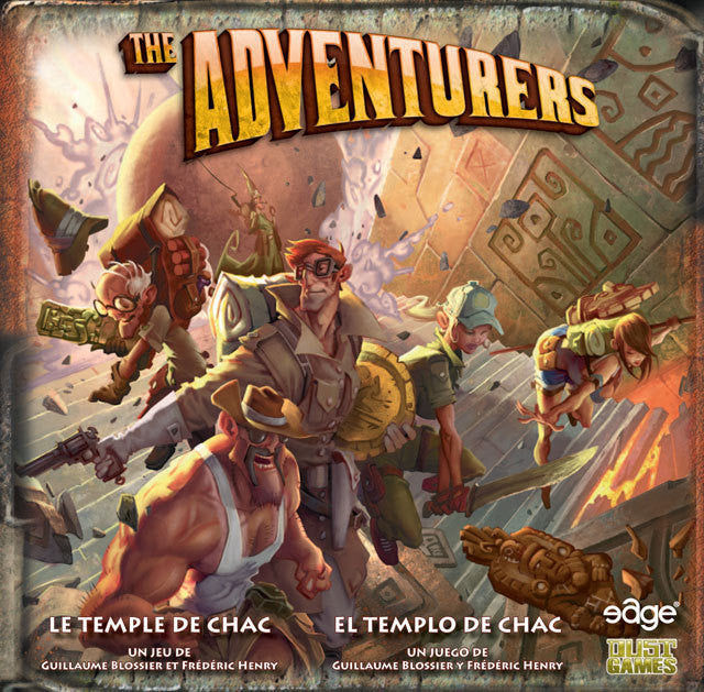 The Adventurers: The Temple of Chac (French)