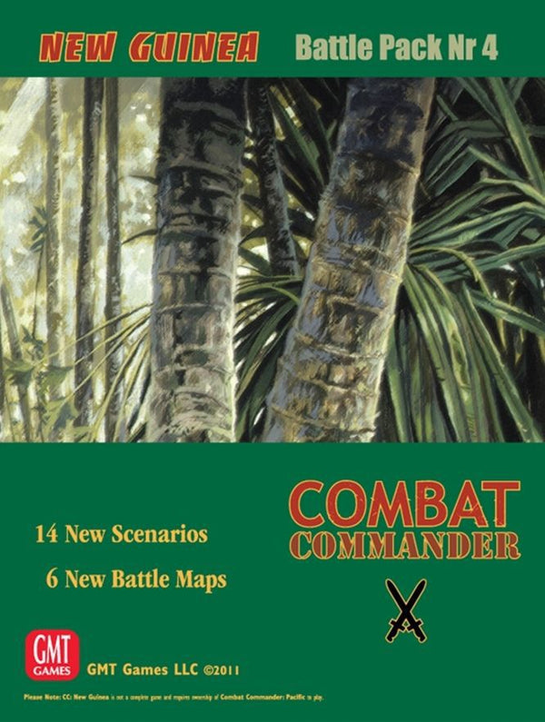 Combat Commander: Battle Pack #4 – New Guinea