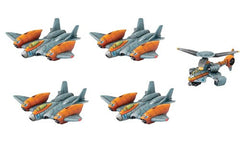 Monsterpocalypse Miniatures Game: Protector GUARD Unit - Strike Fighters & Rocket Chopper